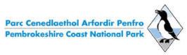 Logo of Pembrokeshire Coast National Park