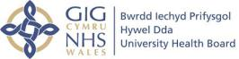 Logo of Hywel Dda Health Group
