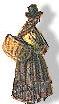 Traditionally Dressed figure