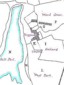 Early map of Paterchurch