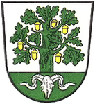 Town Crest of Bergen, Germany